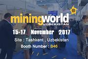CHAENG will attend Uzbekistan Mining world Exhibition 2017