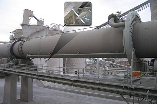 Great wall machinery develop rotary kiln co-processing 100t/d household waste