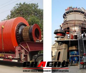 The new technology has a number of advantages in comparison with ball grinding mill