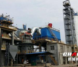 Energy-saving environmentally friendly quartz stone vertical roller mill