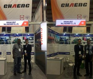 CHAENG is here waiting for your visiting at BAUMA CONEXPO AFRICA today