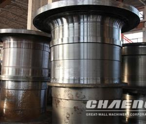 Ball mill trunnion/ball mill steel casting bearings
