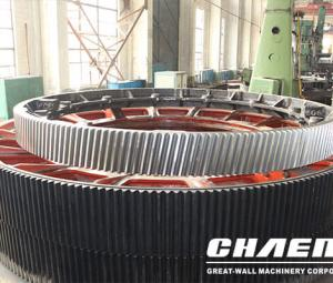 Chaeng are specializes in large ring gears with a diameter of large than 2 meters