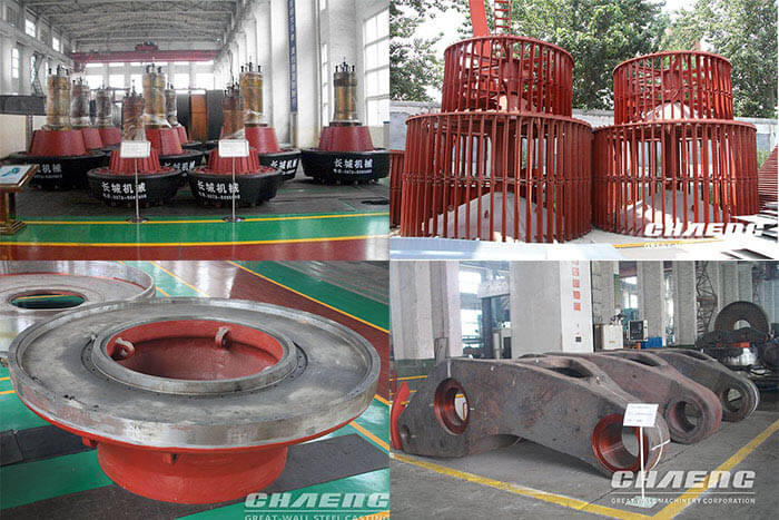 Chaeng provide spare parts service(ball mill,rotary kiln,vertical mill parts)