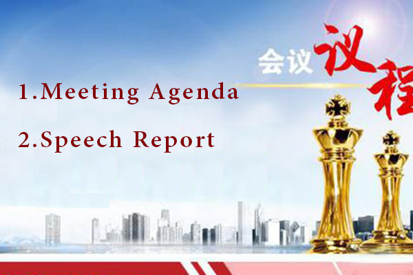 Chaeng 60th anniversary celebration Meeting Agenda and Speech Report