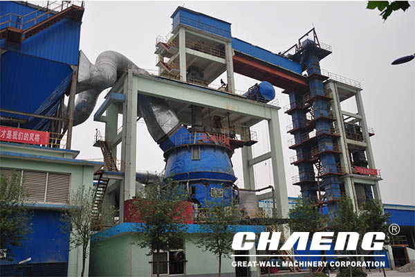 Steel slag vertical roller milll main advantages