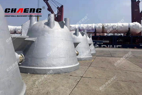 Small delivery peak of CHAENG came again! 6 slag pots were sent to Shanghai Port