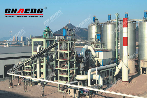 Ningbo Steel's EPC composite powder production line project with annual output of 1.5 million tons(2*600,000 tons of slag powder + 300,000 tons of steel slag powder)