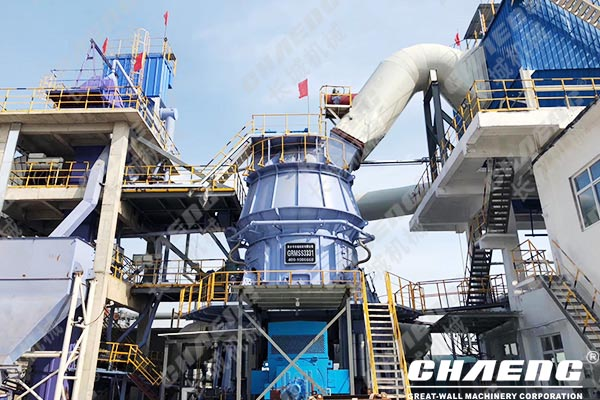 What equipment is needed for slag grinding?