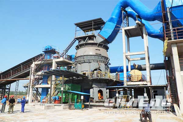 What are the characteristics of vertical mills during operation