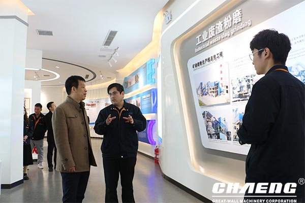 The leaders of Henan Provincial Department of Commerce visited chaeng to inspect the development of