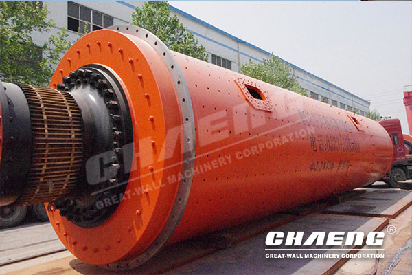 Cement grinding with CHAENG highly efficient ball mill