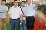 Uzbekistan coustomer visit our factory