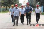 Chile customers visit our factory