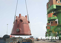 large steel casting slag pot(Mittal delivery picture)