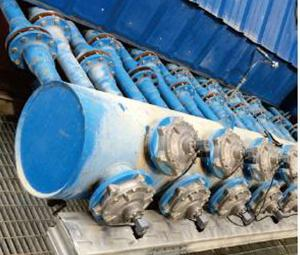 Application of air cooler in rotary kiln tail of cement industry