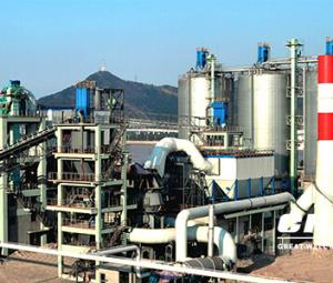 Slag powder production line with the capacity of 600000t/a