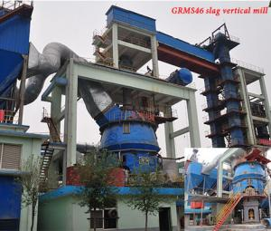 How to determine the grinding pressure of slag vertical grinding system