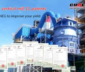 How to reduce the gas wear and tear of slag vertical grinding mill?