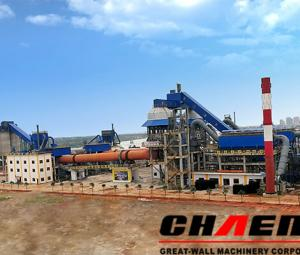 Chaeng φ4.8 × 74m cement rotary kiln four structural characteristics of the interpretation of good