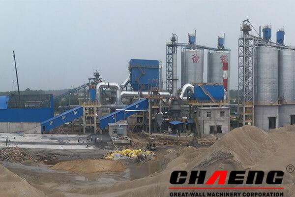 slag processing plant