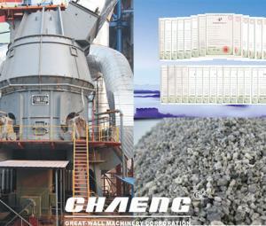 Slag vertical mill can handle blast furnace slag