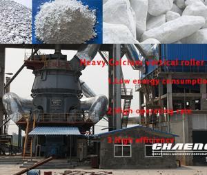 Chaeng Vertical roller Mill - Heavy Calcium Milling Equipment