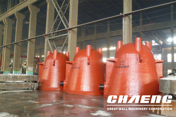 The Great Wall cast steel slag pots has passed the acceptance test and was sent to the South Branch
