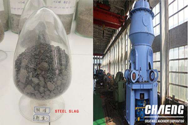 slag vertical grinding mill
