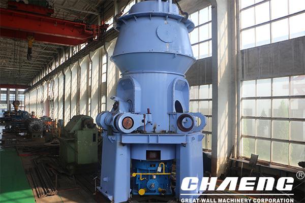 Reuse of industry waste steel slag - vertical roller grinding mill