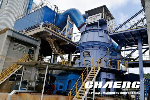 High-fine limestone powder vertical roller mill advantage and design