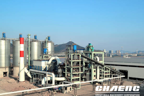 Ning steel group 300,000 tons steel slag powder production line