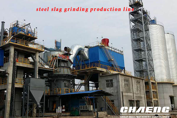 Chaeng slag/steel slag/nickel slag powder plant process advantages