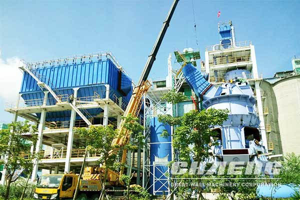 Application of vertical mill in cement building materials industry