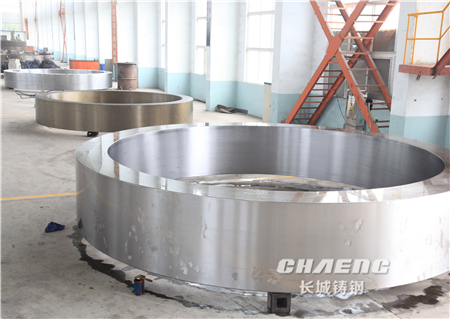 Chaeng steel casting riding ring/tyre of rotary kiln/wheel belt