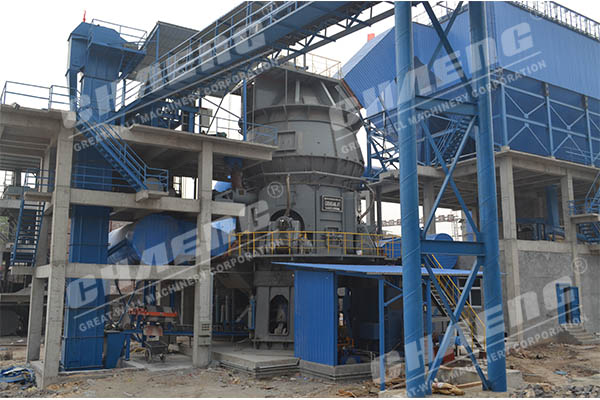 Vibration factors in the operation of vertical roller mill