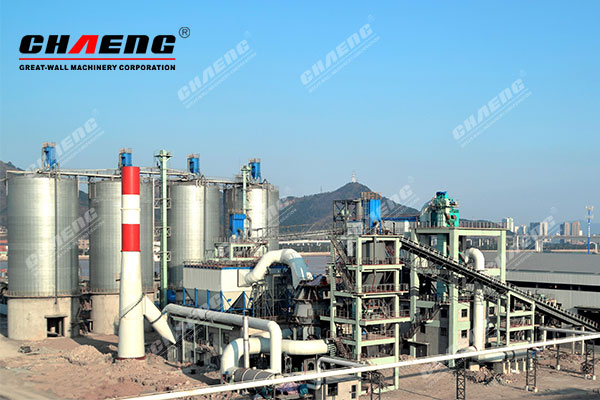 CHAENG steel slag powder production line helps steel mills waste residue development and utilization
