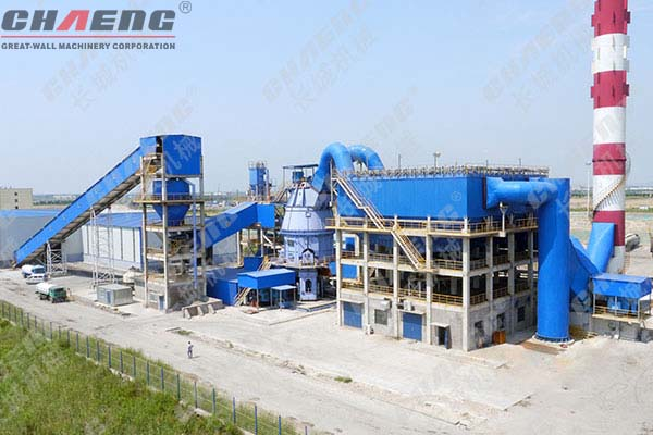 How to determine the output of slag production line according to customer needs
