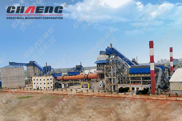 Chaeng rotary kiln - Limestone Calcination Equipment