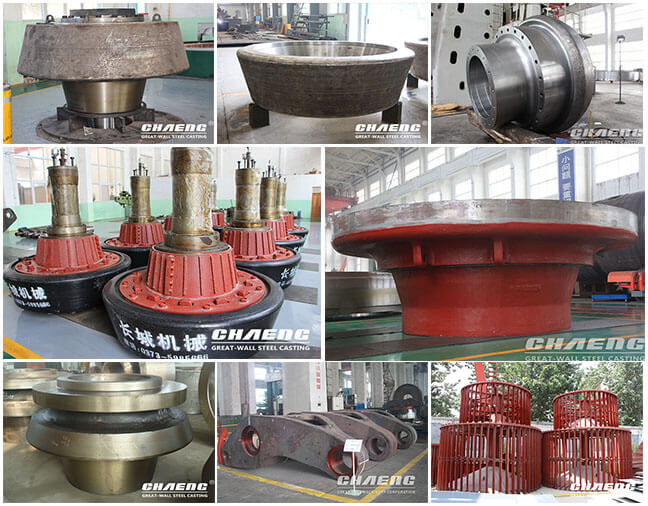 casting steel parts
