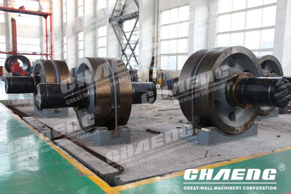 Supporting Roller of Rotary Kiln,Kiln Tyre of Rotary Kiln,Girth Gear of Rotary Kiln