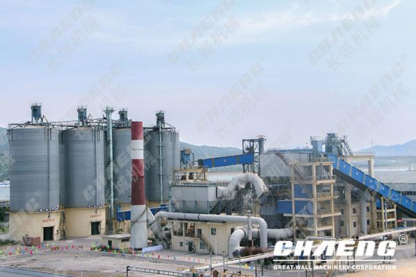 steel slag production line