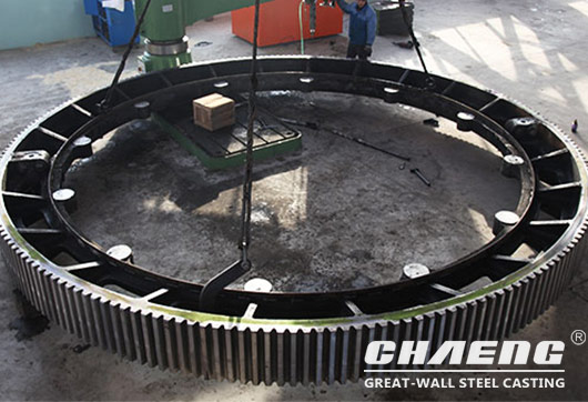Girth gear/gear ring manufacturer CHAENG