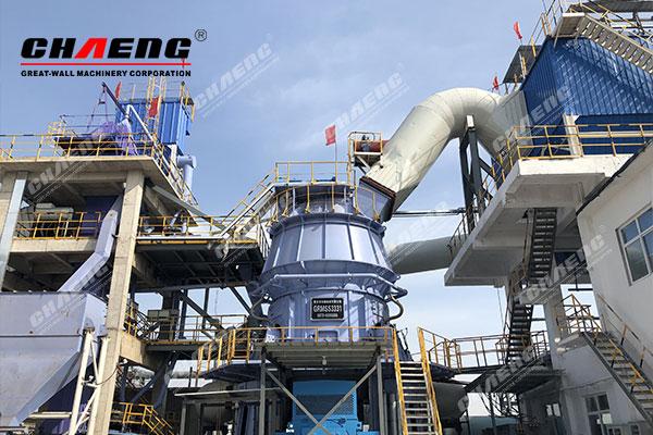 steel slag grinding plant EPC project