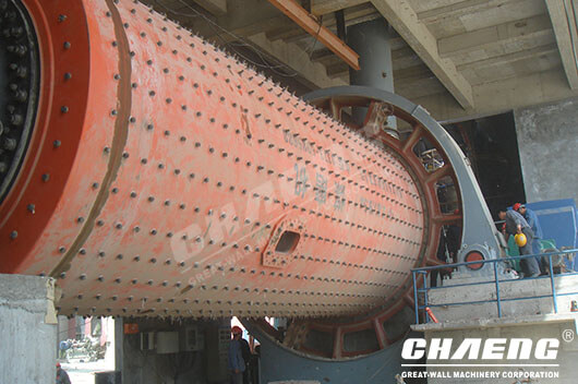 ball mill liner two installation points