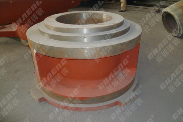 Wear of related parts of roller bearing of vertical mill