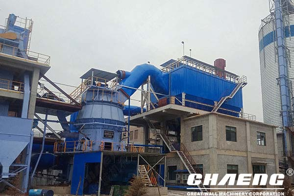 Chaeng 6 slag powder line general contracting projects were delivered one after another