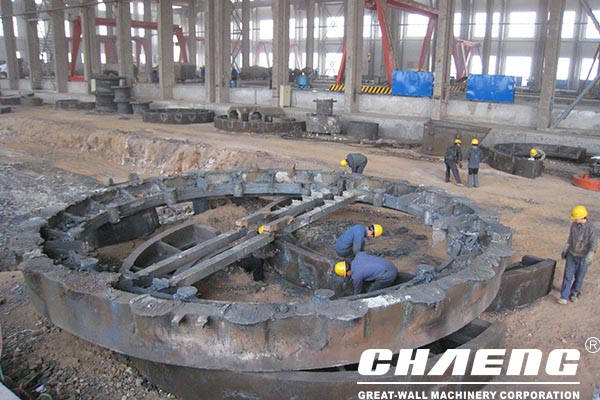 These aspects are used to control noise when cast steel manufacturers process girth gears