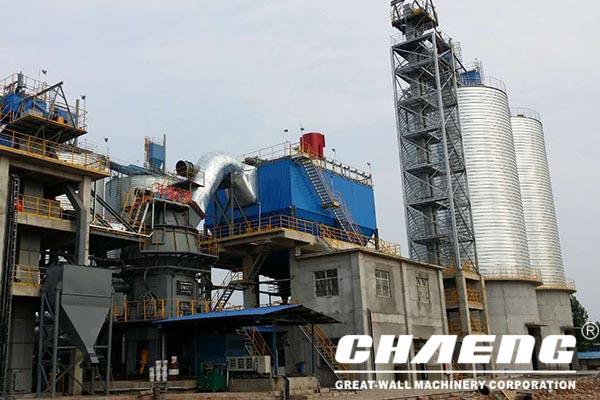 steel slag grinding plant