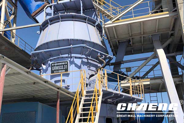 slag mill plant